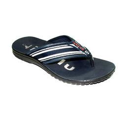 Broad Blue Slipper