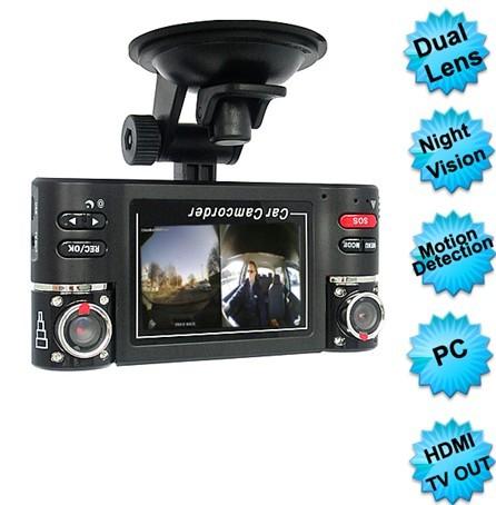 2.7 Inch Dual Camera Car Video Record