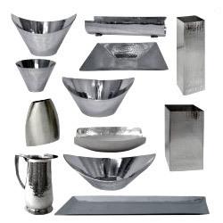 Hammered Tableware