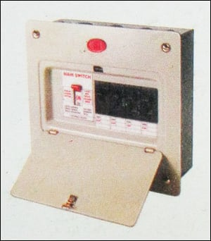 Mcb Consumer With Distribution Boards With Isolator Switches