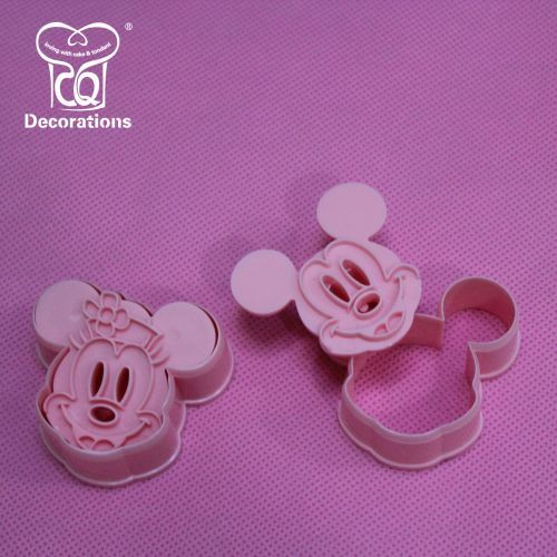 Plastic Cookie Cutter (Mickey Mouse Shaped)