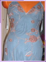 Silk Beaded Cocktail Dresses