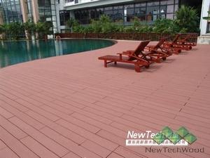 Newtechwood Anti-UV Lumber WPC Decking