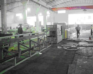 PE Pipes Extrusion Molding Production Line
