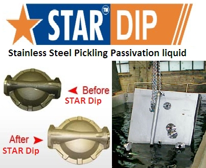 Stainless Steel Pickling Passivation (Star Dip)