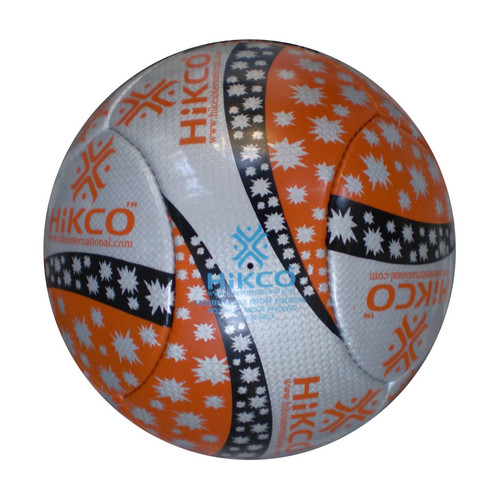 Orange 6 Panel Soccerball