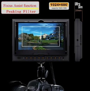 """7"""" on-Camera Monitor And LCD Field Monitor"""
