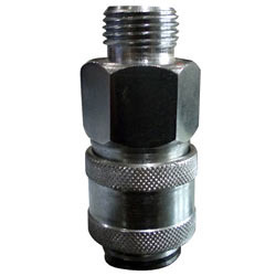 Single Check Valve Quick Release Coupling Sc-03