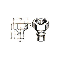 Single Check Valve Quick Release Coupling Sc-06