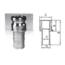 Cam Lock Quick Release Coupling Cl-04
