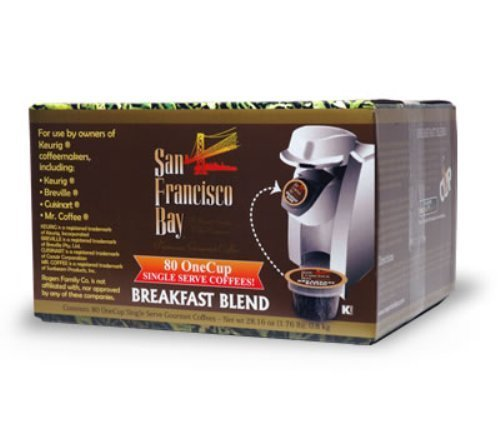 San Francisco Bay Coffee One Cup for Keurig K-Cup Brewers