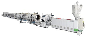 Large Caliber HDPE Pipe Extrusion Line
