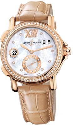 Ulysse Nardin Dual Time Ladies Watches 246-22B/391