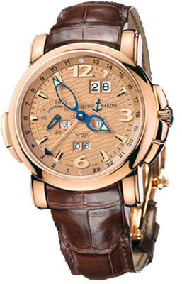 Ulysse Nardin GMT Perpetual Watches 322-66