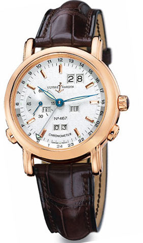 Ulysse Nardin GMT Perpetual Watches 322-88/91