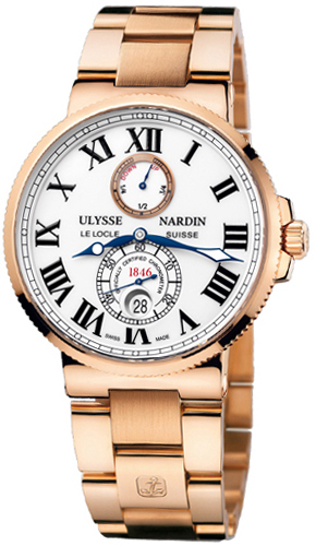 Wrist Watch (Ulysse Nardin Maxi Marine Chronometer 43Mm)