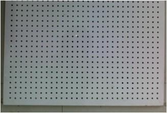 Punch Hole Fibre Board