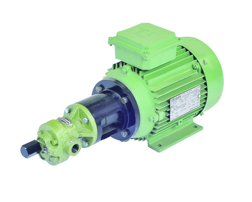 Gear Pump With Pressure Relief Valve