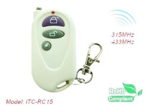 Two Buttons Remote Control 315M