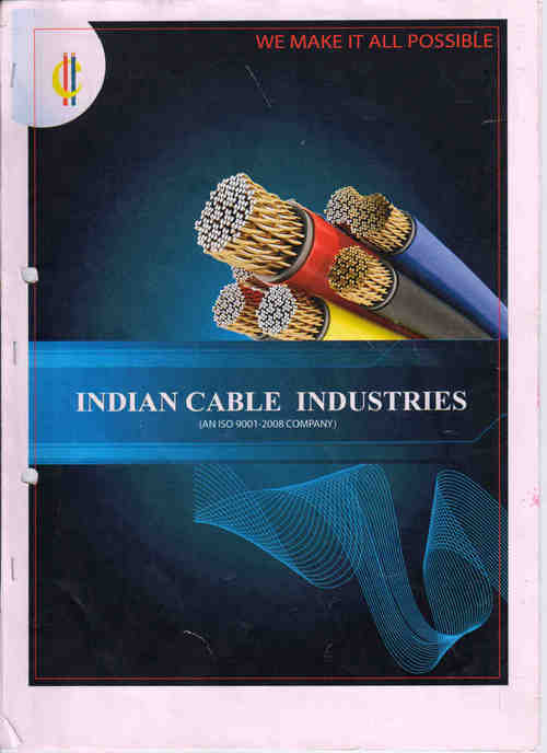 Control Cable - INDIAN CABLE INDUSTRIES, Plot No  F-48, Site