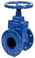Non-Rising Stem Resilient Soft Seated Gate Valve (DIN3352-F4)
