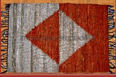 Leather Cutshuttle Rugs