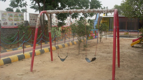 Play Ground Double Swing