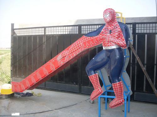 Spider Man Slide