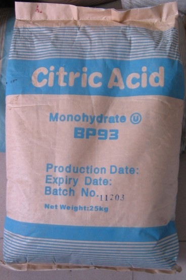 Citric Acid (Monohydrate & Anhydrous) (8-20 to 8-80 Mesh)