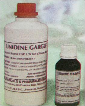 Unidine Gargle Povidone Iodine Mouth Wash