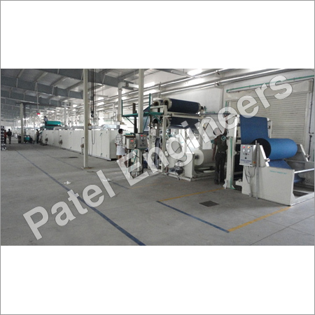 P.V.C Synthetic Leather Producing Line