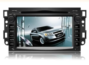 Car DVD Player with 7 Inches HD LCD Suitable for Epica Spark