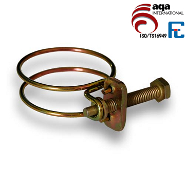 Double Wire Clamps