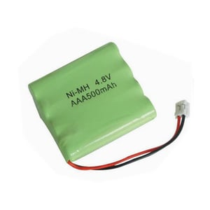 4.8V AAA 500mAh Ni-MH Rechargeable Battery Pack