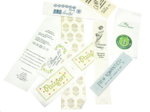 Cotton Tape Printed Labels