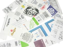 Taffeta Printed Labels