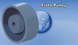 Flate Pulley
