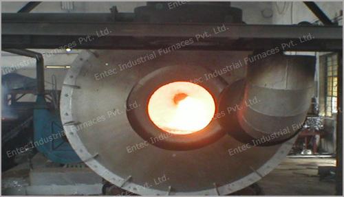 Rotary Type Melting Furnaces in Faridabad, Haryana - Entec