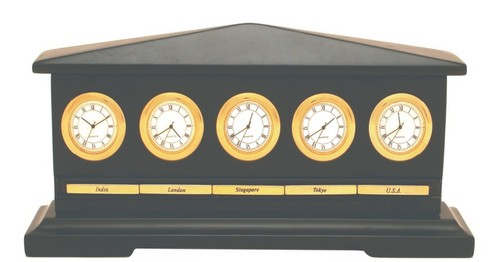 World Time Clock Set
