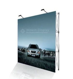 Portable Banner Display Stand