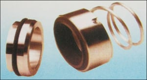Seals With Single Conical Spring