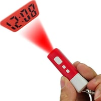Digital Mini LCD Projection Clock with Keychain