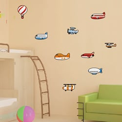 Airplanes Designs Stickers
