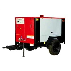 Electric Powered Trolley Mounted Compressors Hiring