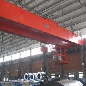 Bridge Crane with Hook and 250T/50T Lifting Capacity