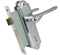 Lever Mortise Door Lock Set Sleek
