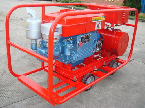12kW Diesel Generator Set with Rated speed 2,200rpm in Fuzhou