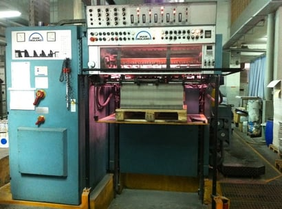 Used Four Color Offset Printing Machine (Roland 600)