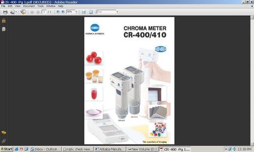 Chromameter Cr 400