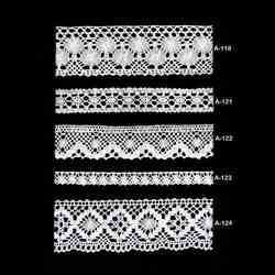 Designer Cotton Lace (A- 118 To A - 124)